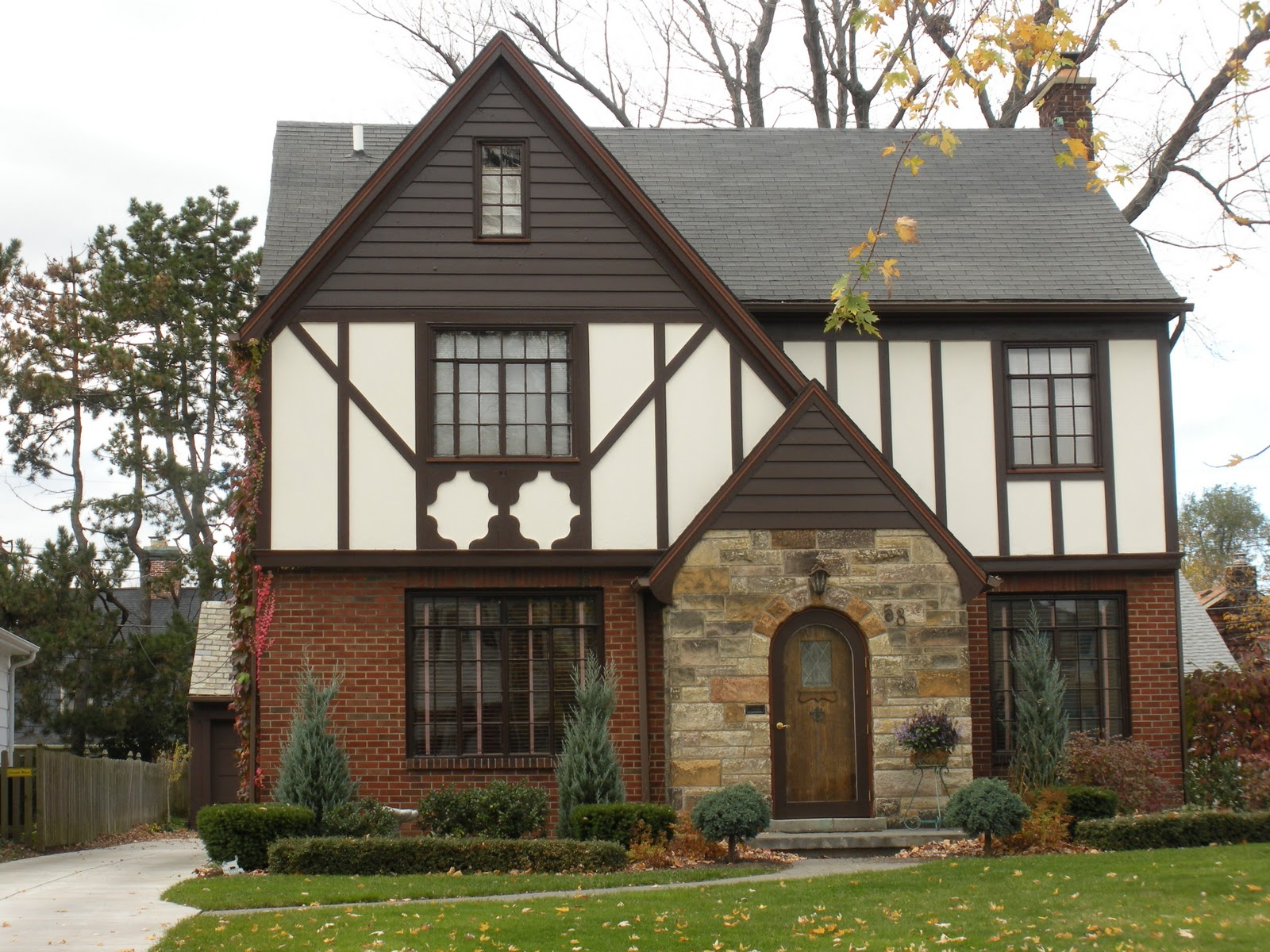 tudor revival - Housing Design Styles