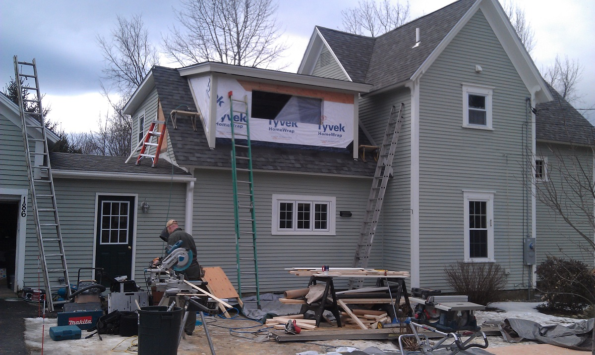 Building A Dormer Addition