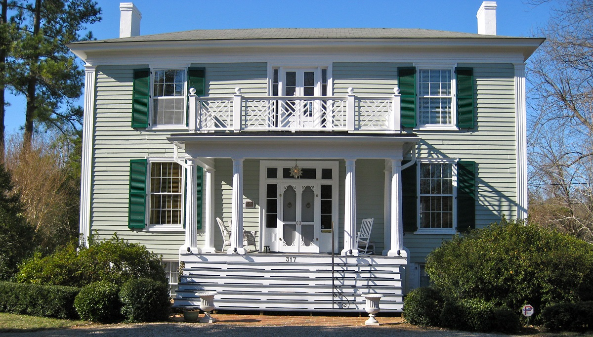 greek revival - Housing Design Styles