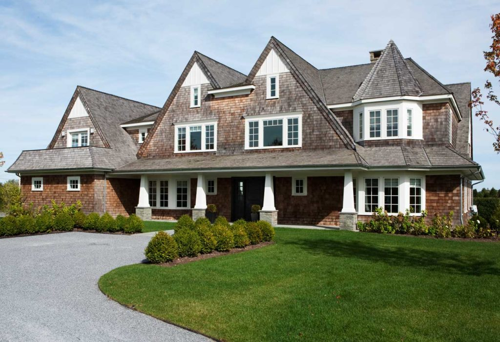 Top 15 house designs and architectural styles to ignite for Shingle style home plans