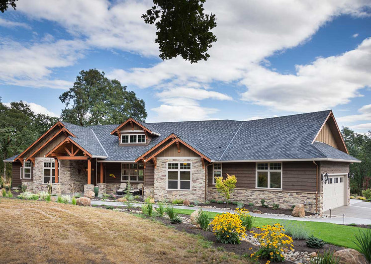 ranch house design - Craftsman Ranch Home Exterior
