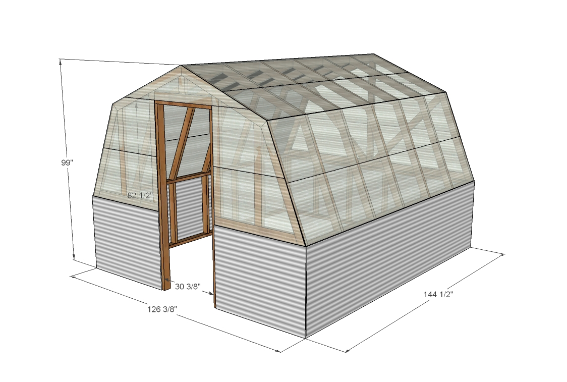 Top 20 greenhouse designs and costs Barn styles plans