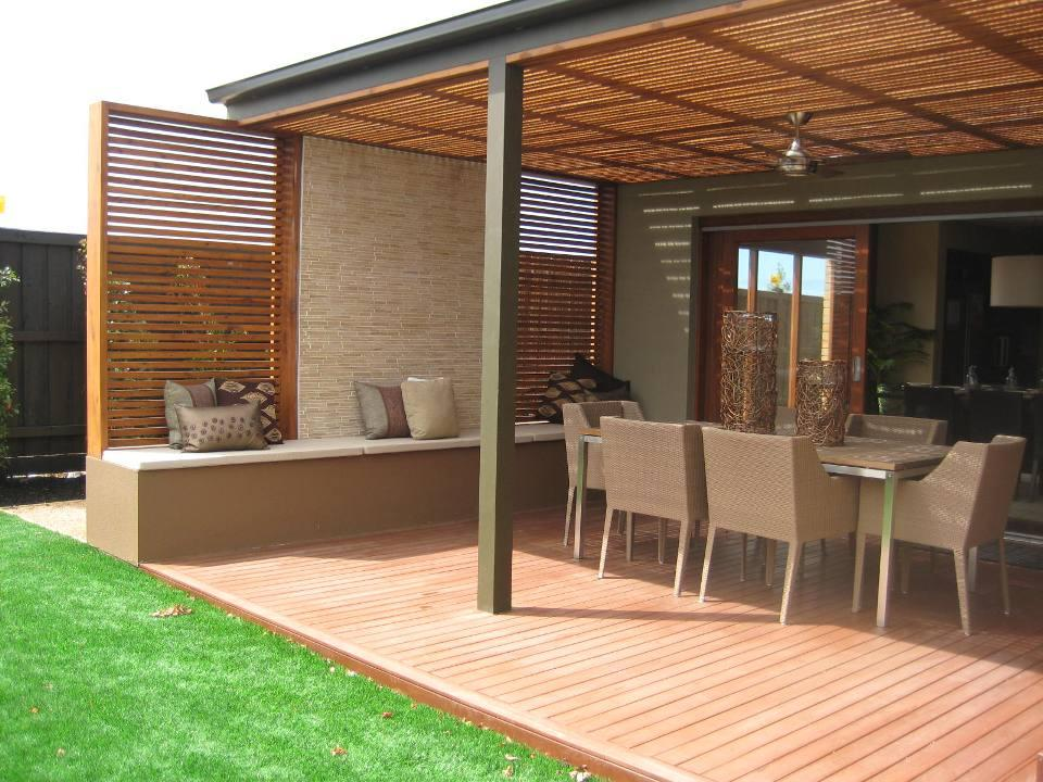 Top 20 pergola designs plus their costs diy home for Sustainable decking