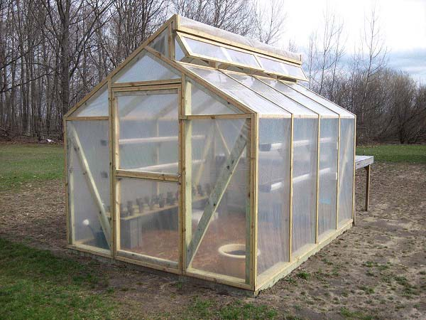 gable roof greenhouse - Greenhouse Design Ideas