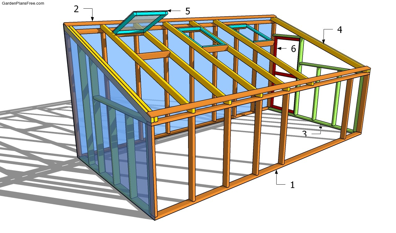 Top 20 greenhouse designs and costs for House framing plans