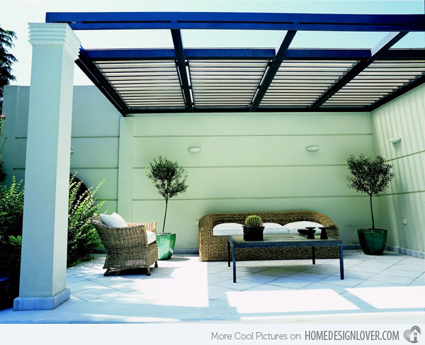 Top 20 pergola designs plus their costs diy home improvement ideas 24h site plans for for Pergola aluminium design