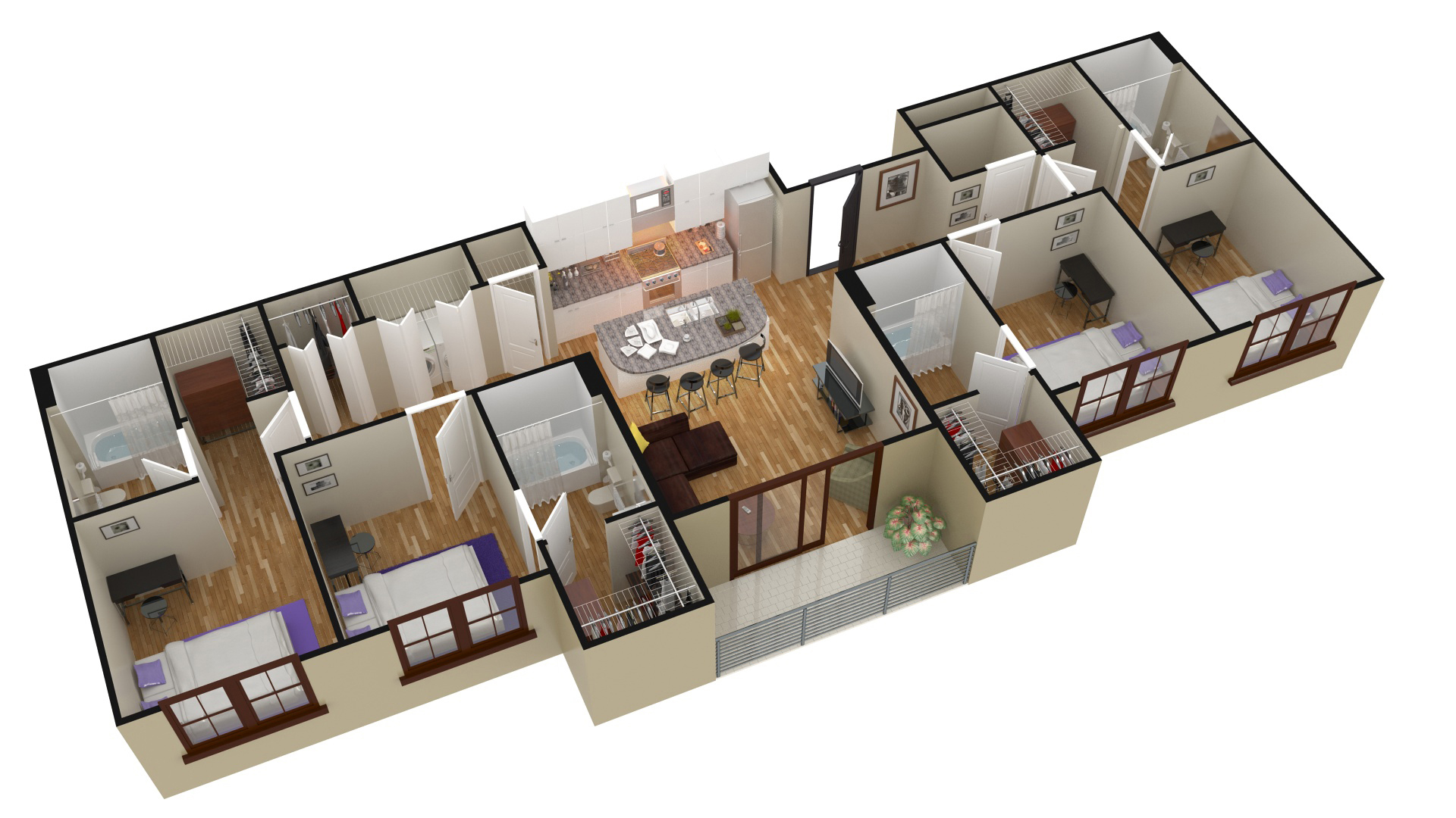 3d floor plans 24h site plans for building permits site for Make your floor plan