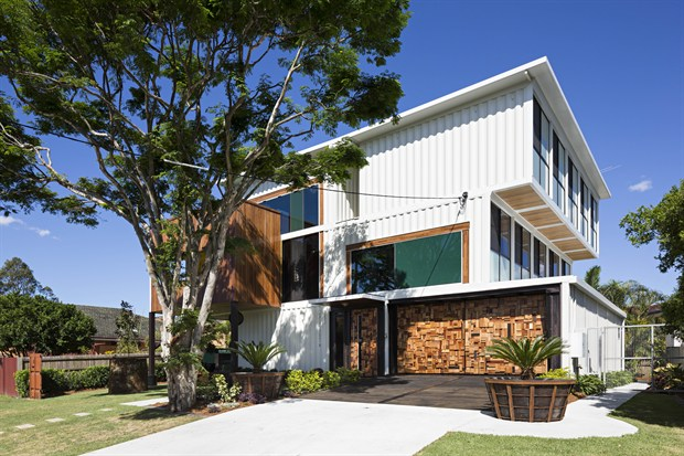 Top 20 shipping container home designs and their costs for Container home designs australia