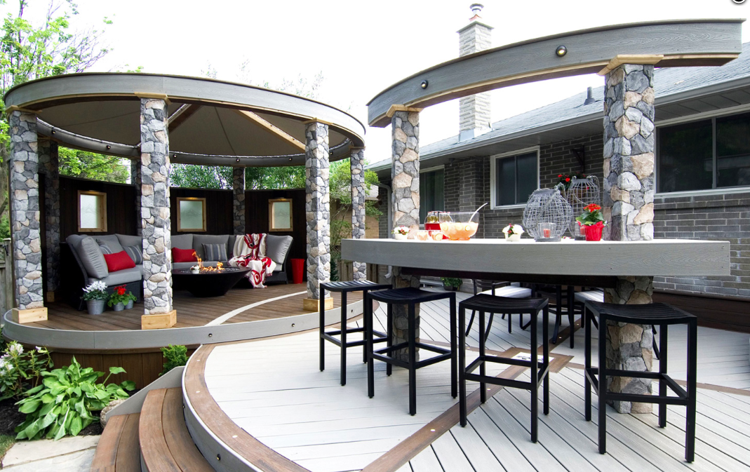 Top 15 Deck Designs Ideas - DIY Outdoor Home Improvements and their ...