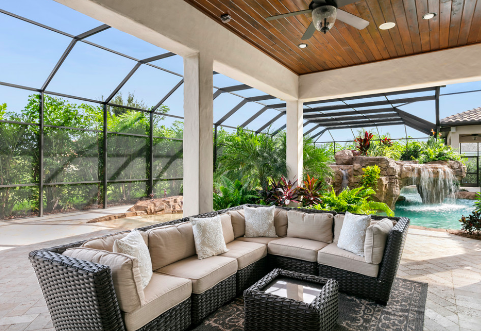 Tuscan sunroom