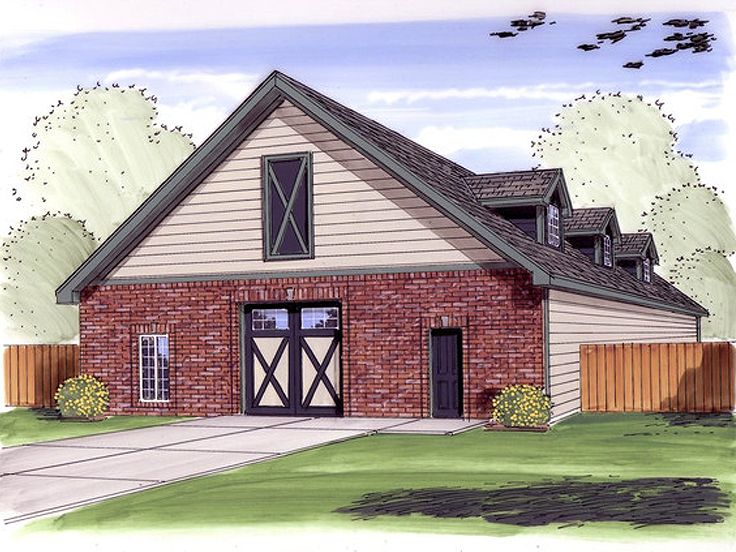 Top 15 garage designs and diy ideas plus their costs in for House plans with drive through garage