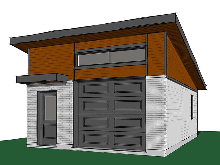 Top 15 garage designs and diy ideas plus their costs in for Small house plans with 2 car garage