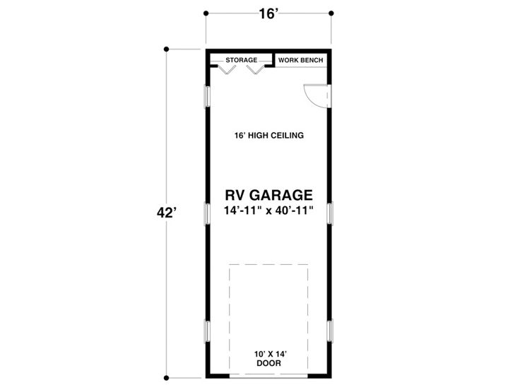 RV Garage - plan