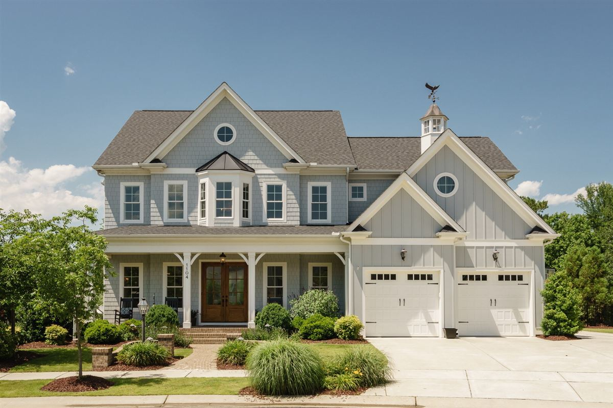 Wake forest custom home
