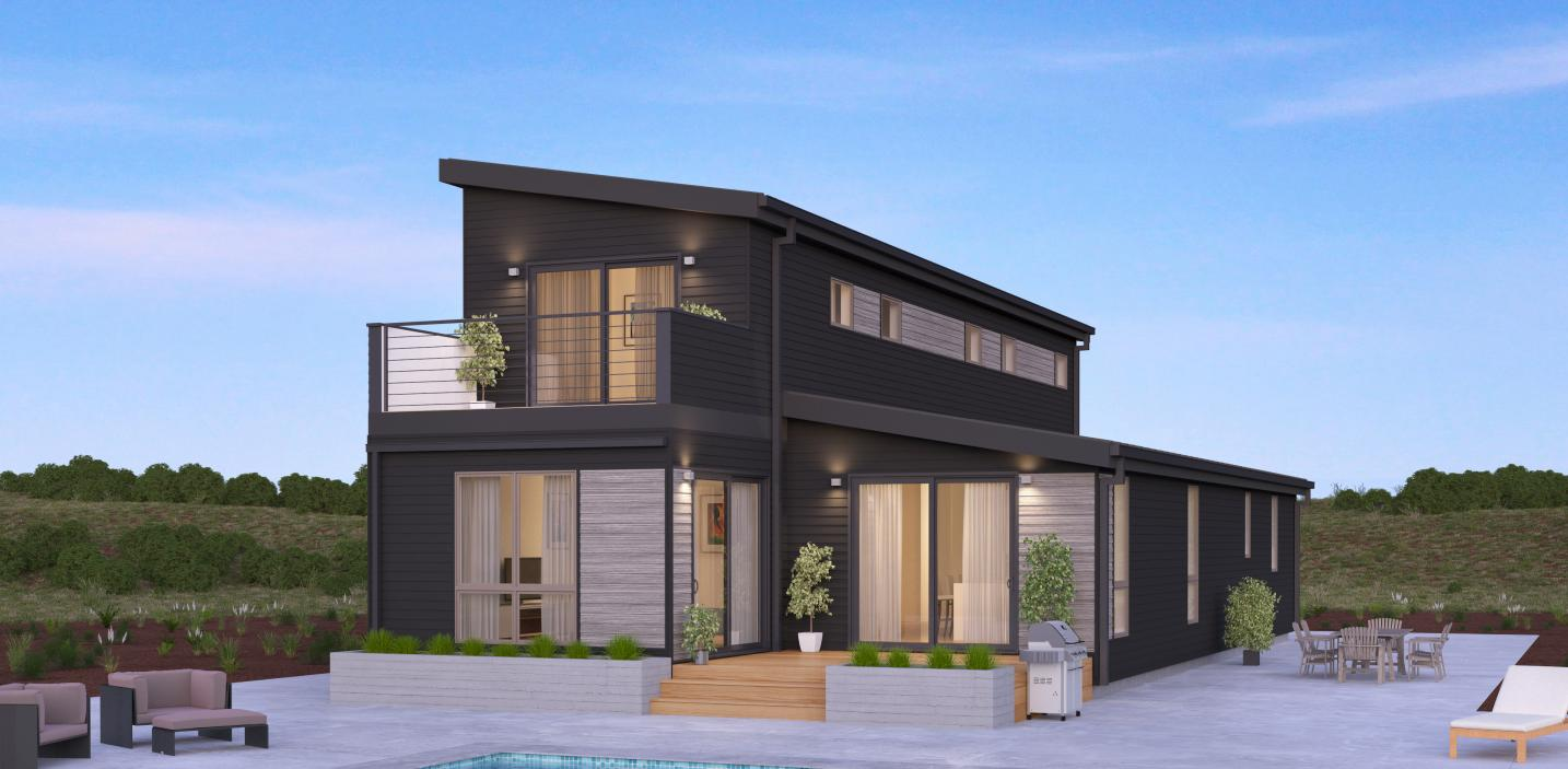 Top 15 prefab home designs and their costs modern home for Home builders house plans