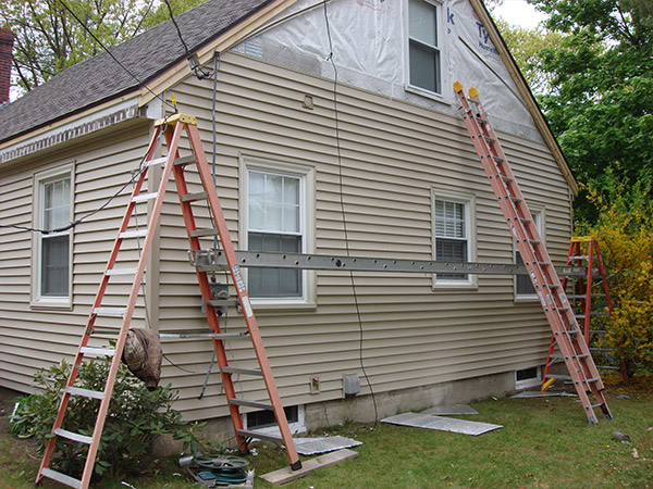 vinyl siding replacement