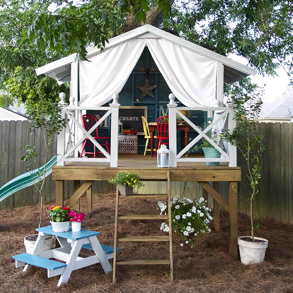 Top Outdoor Playhouses For Kids Plus Their Costs Site